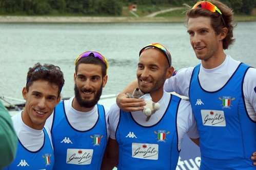 World champions maintain gold standard at World Rowing Cup in Austria