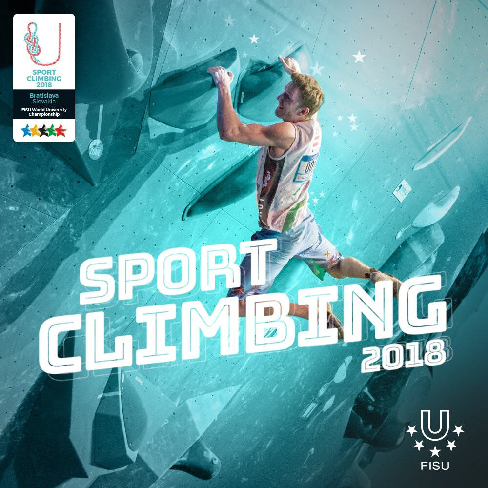 Lead events conclude World University Sport Climbing Championships