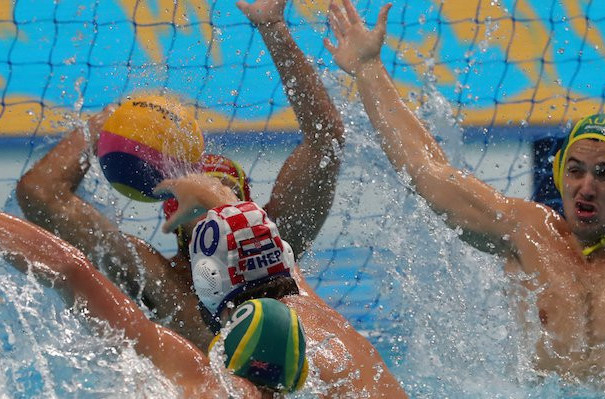 World champions Croatia earned fifth place overall at the FINA Men's Water Polo World League Super Final in Budapest with a 10-8 win over Australia ©FINA