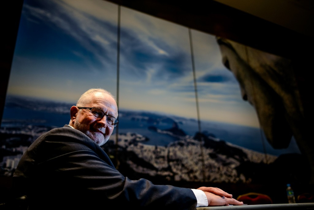 Sir Philip Craven thanked Glenn Tasker for his work in the role
