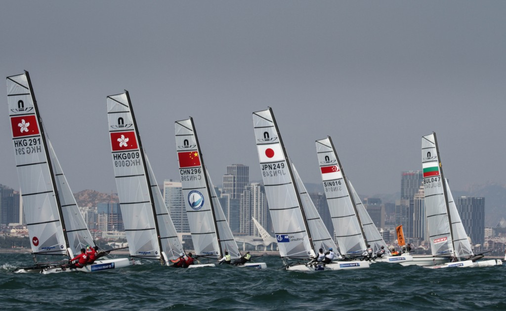 Jiahui Wui makes perfect start to ISAF World Cup in Qingdao