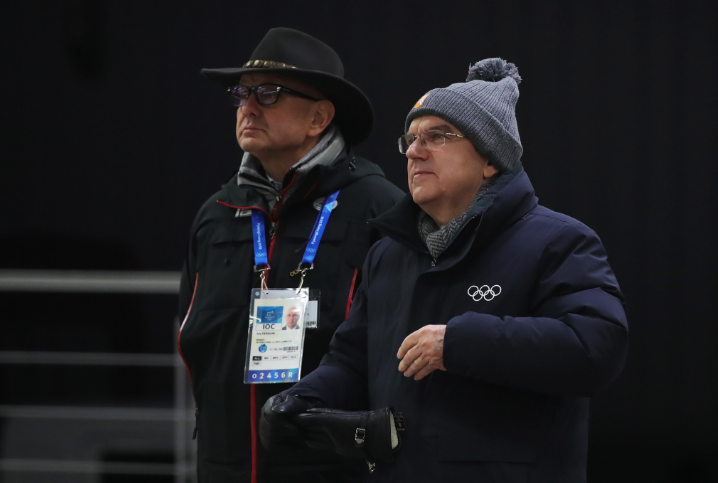 Ivo Ferriani is understood to have a close working relationship with the IOC President Thomas Bach, pictured right ©Getty Images