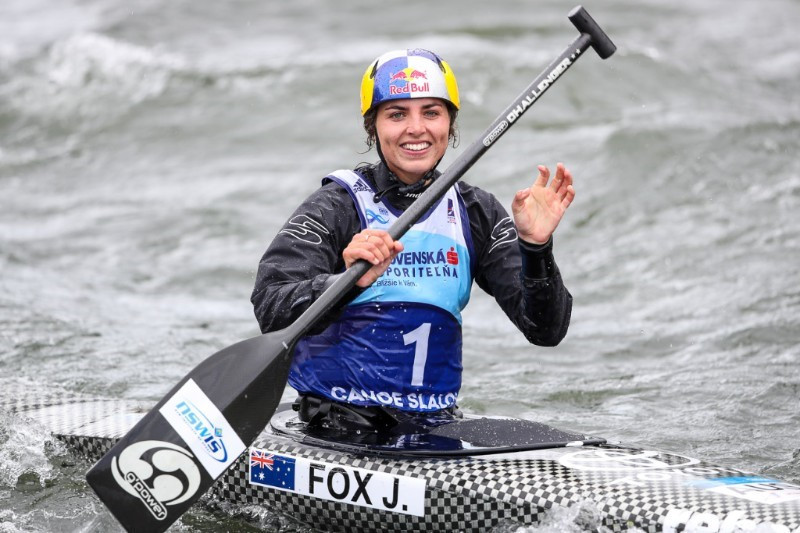 Fox secures second victory at opening Canoe Slalom World Cup in Slovakia