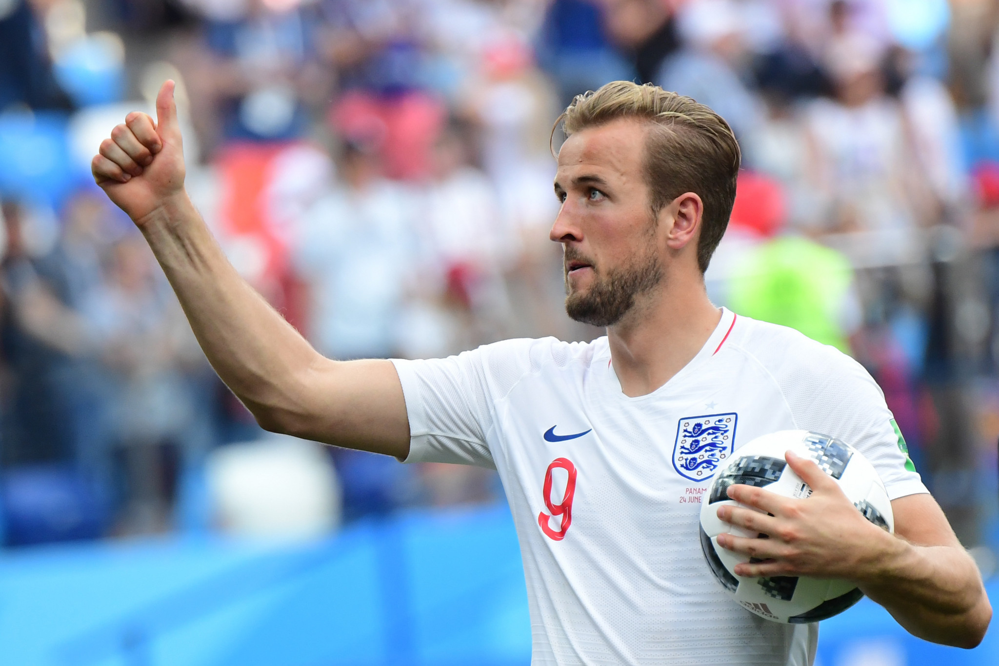 Harry Kane hit a hat-trick in a 6-1 demolition of Panama ©Getty Images