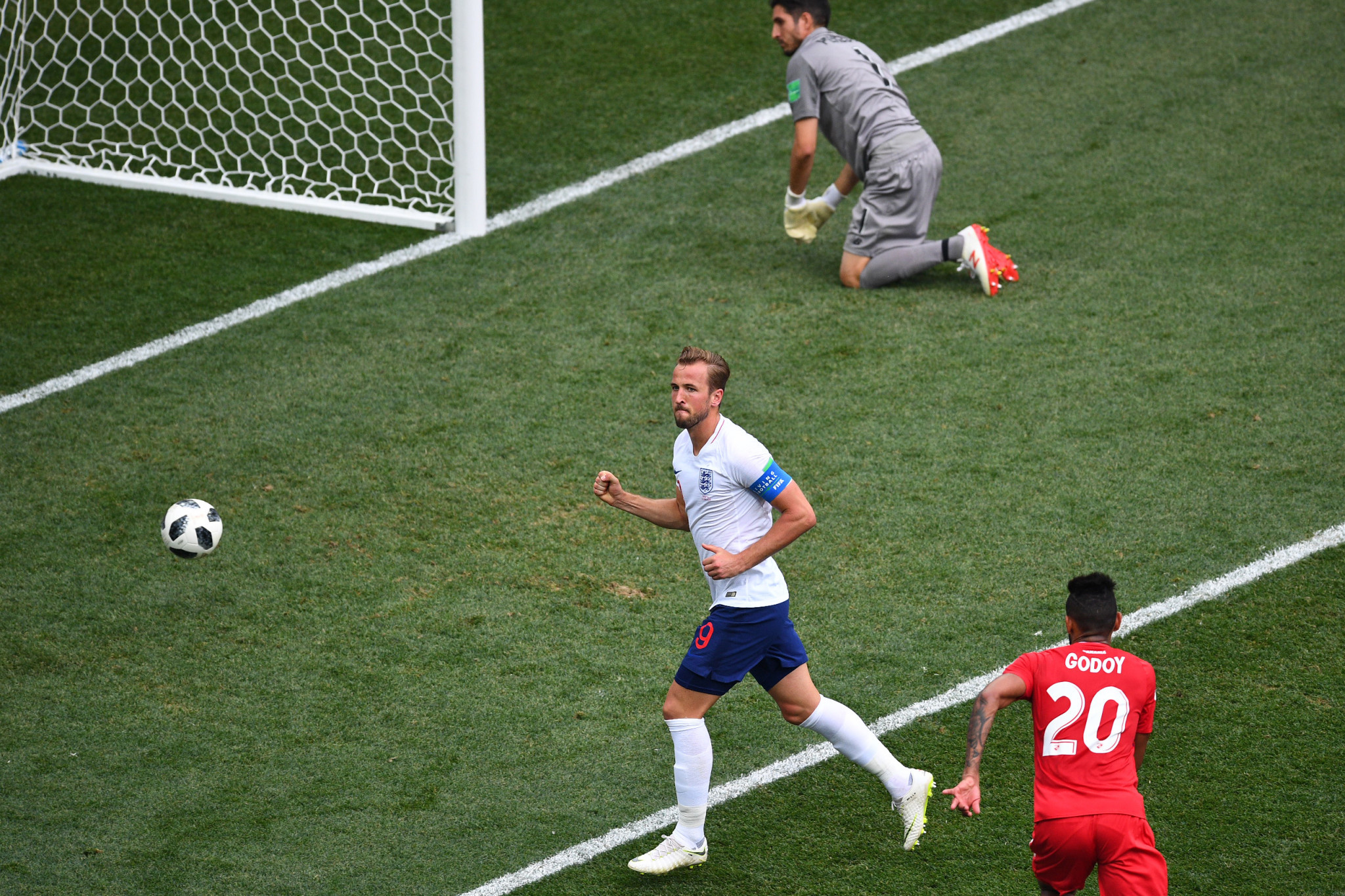 Harry Kane scored a hat-trick as England progressed ©Getty Images