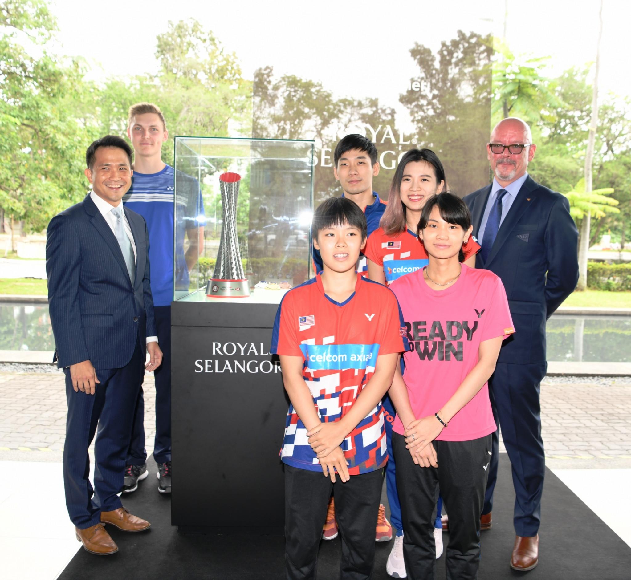 Royal Selangor named official trophy partner of HSBC BWF World Tour Finals
