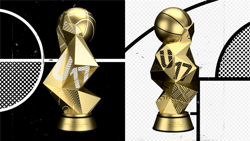 New trophies revealed for FIBA Under-17 World Cups