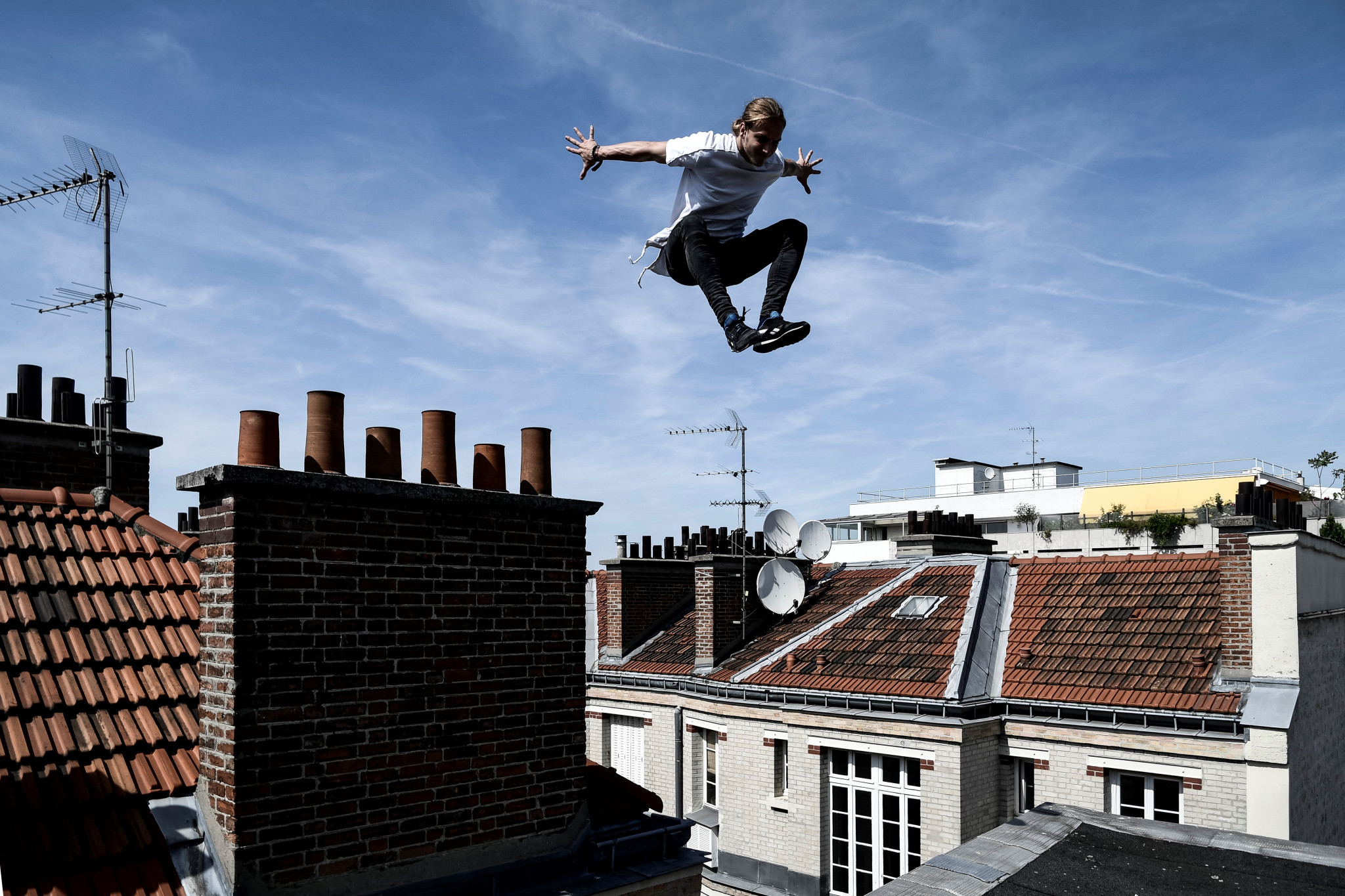 The FIG's move into parkour has been continually criticised by rival groups in the sport ©Getty Images