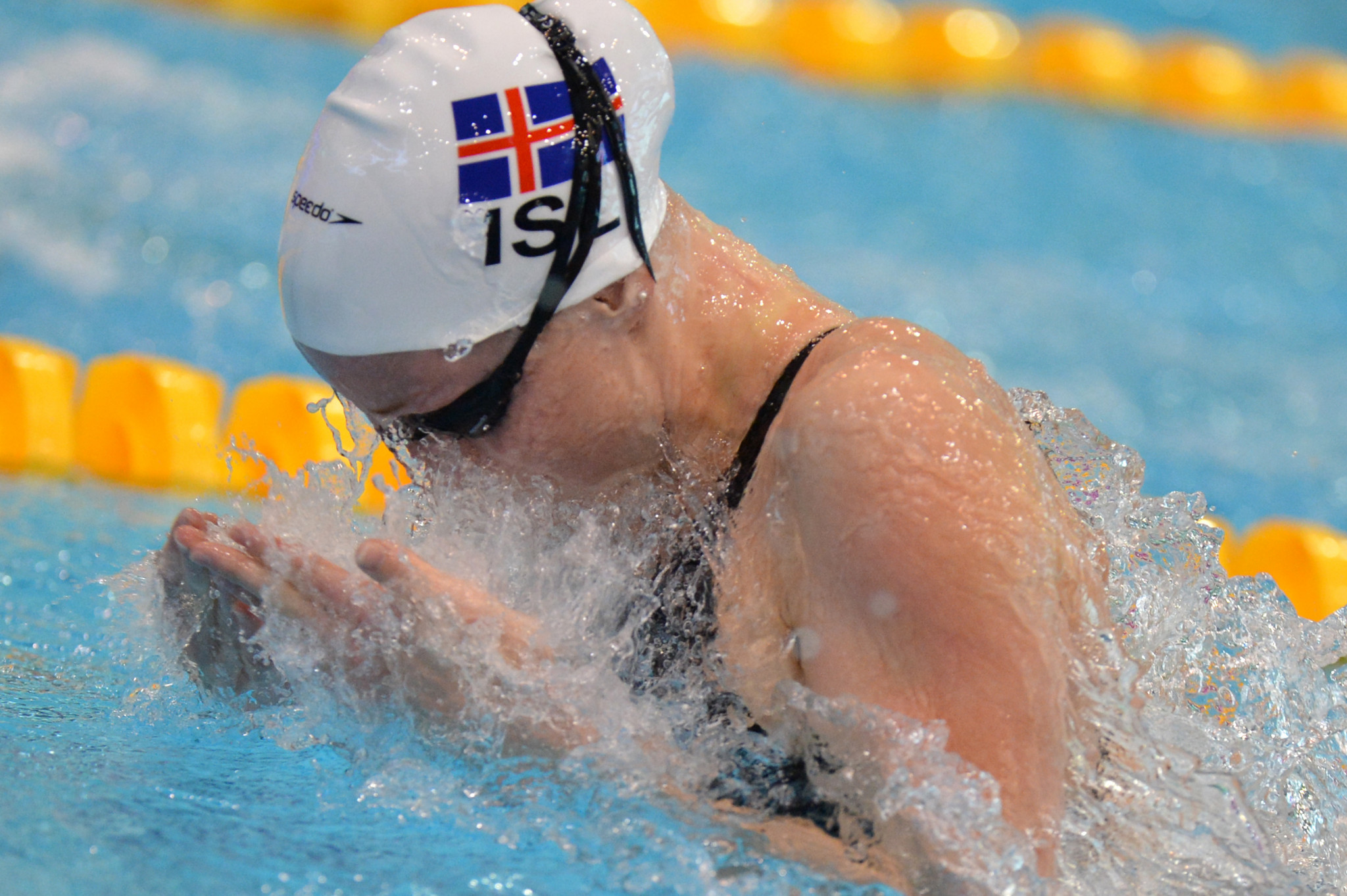 Hrafnhildur Lúthersdóttir is one of Iceland's most successful swimmers ever ©Getty Images