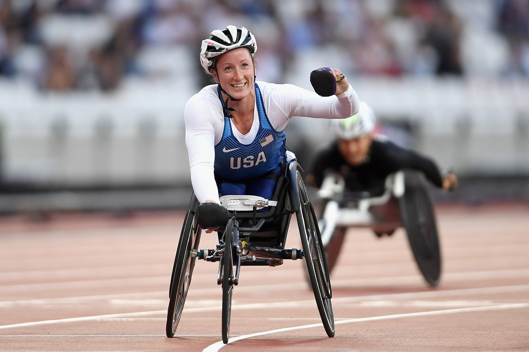 Tatyana McFadden is the only athlete nominated in either category for a performance outside of the 2018 Winter Paralympic Games ©Getty Images