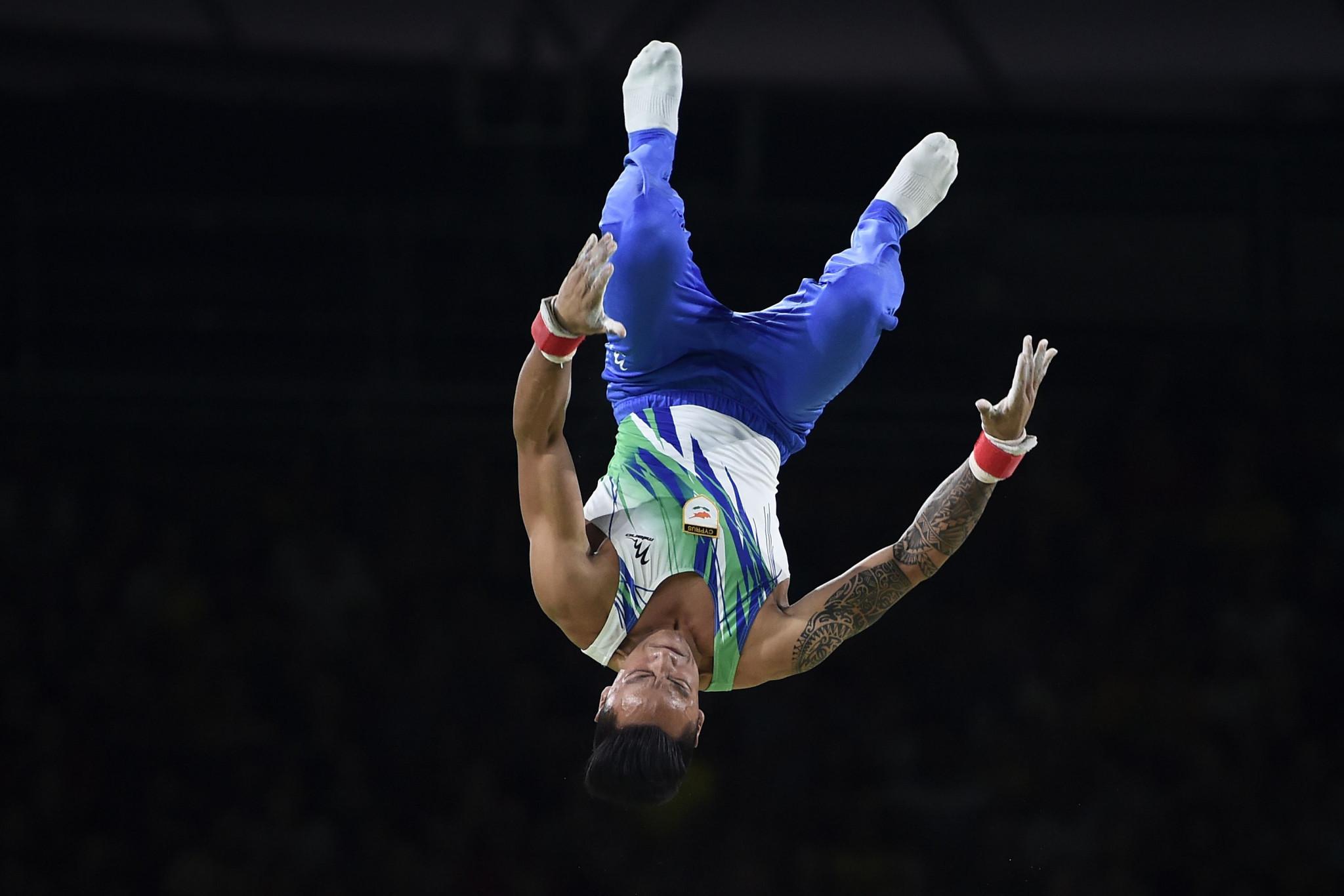 Georgiou wins gymnastics gold for Cyprus at Mediterranean Games