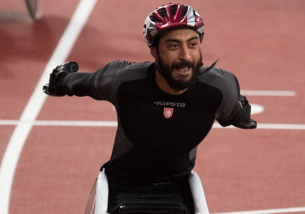Home favourite Yassine Gharbi wins again on final day of Tunis Para Athletics Grand Prix