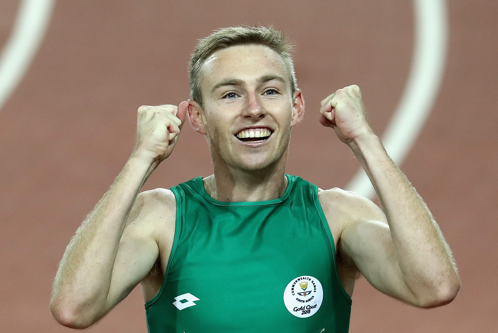 South Africa's Charl du Toit remains the dominant force in the men's T37 400m, winning again in Tunis ©Getty Images