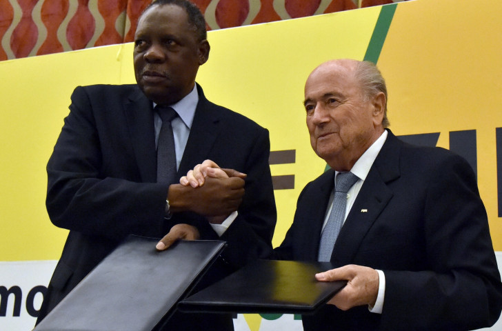 CAF President Issa Hayatou had said every African nation would vote for Sepp Blatter in the FIFA Presidential election