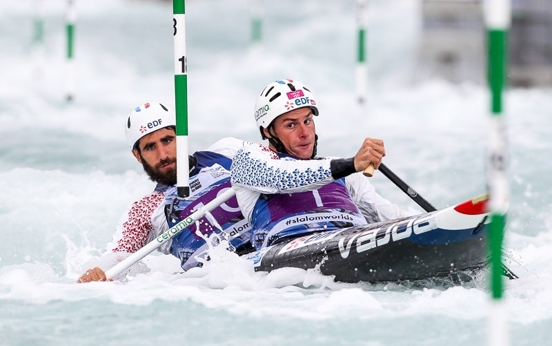 French dominate opening day of Canoe Slalom World Championships