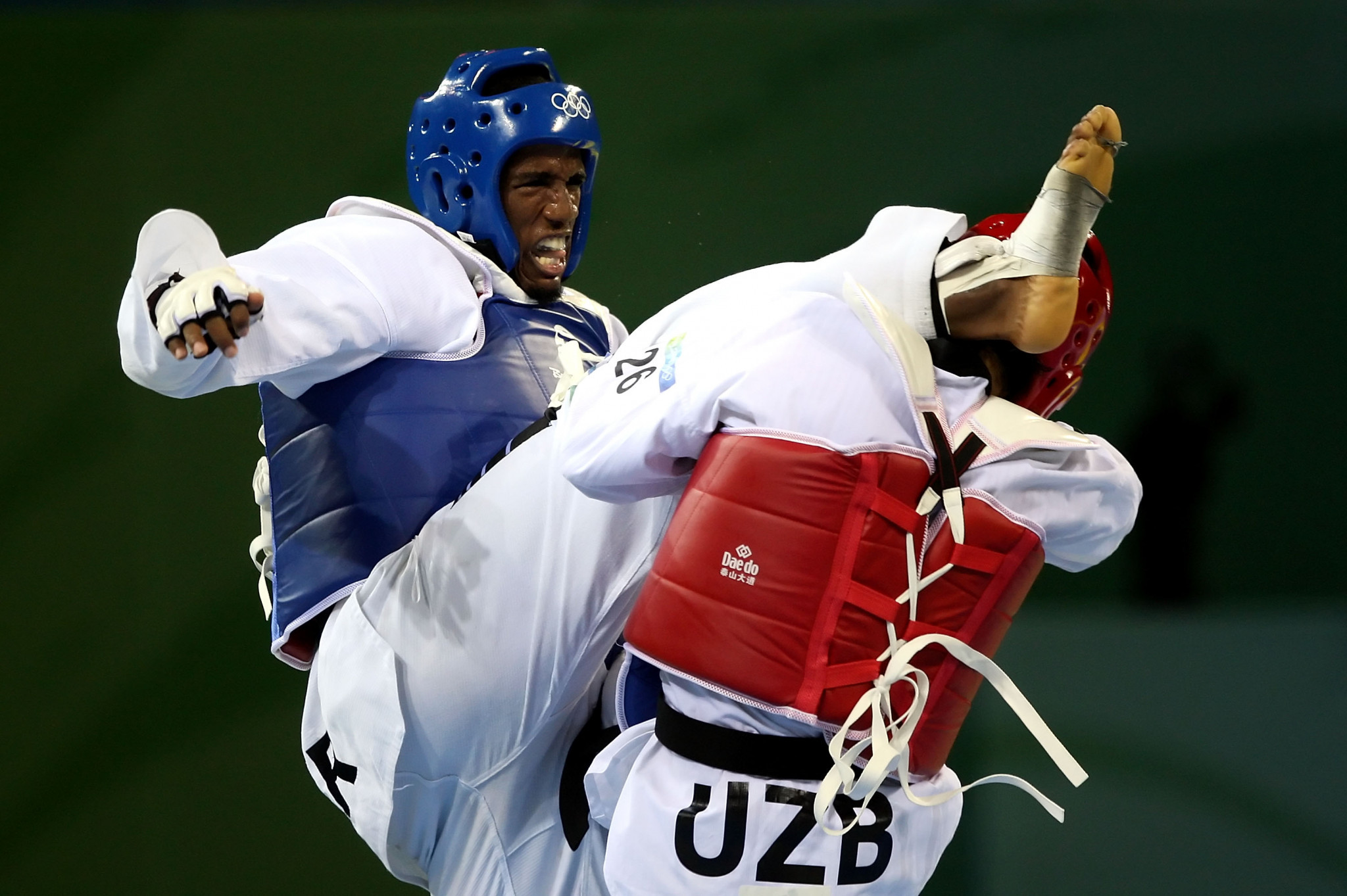 Chika Chukwumerije won Nigeria's first and so far only Olympic Taekwondo medal at Beijing 2008, where he took bronze, and is now the technical director of the Nigerian Taekwondo Federation ©Getty Images