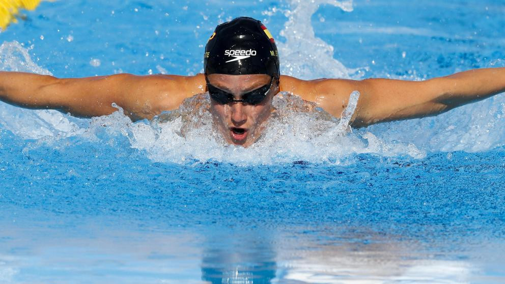 Belmonte wins third gold medal at Mediterranean Games as swimming concludes