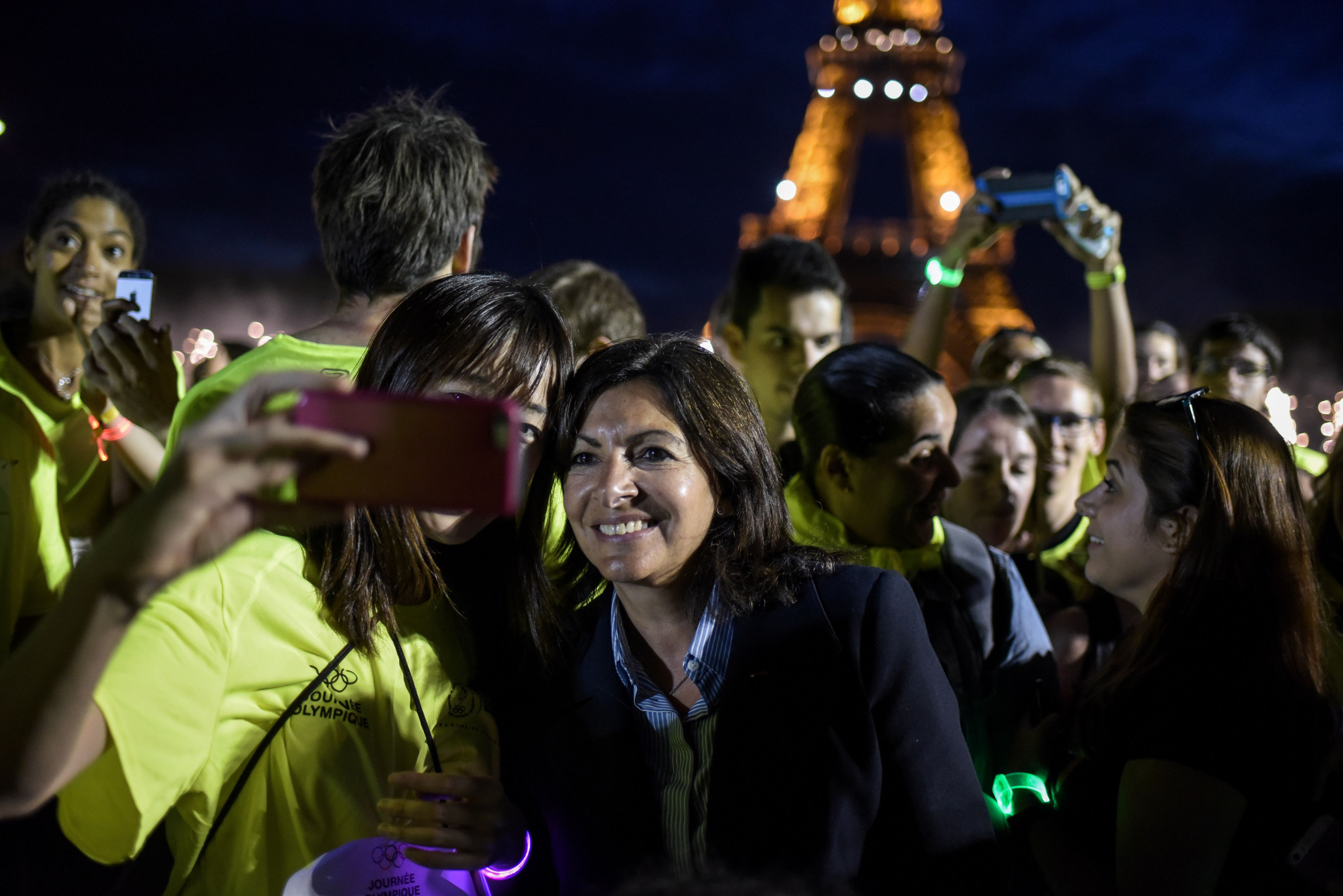 Paris Mayor Anne Hidalgo is the chair of the C40 group ©Getty Images