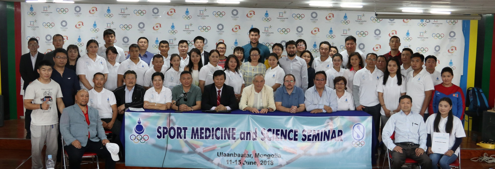 Mongolia hosts sports science seminar with help from Olympic Solidarity Commission