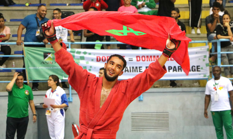 Morocco the top nation at African Sambo Championships in Tunisia