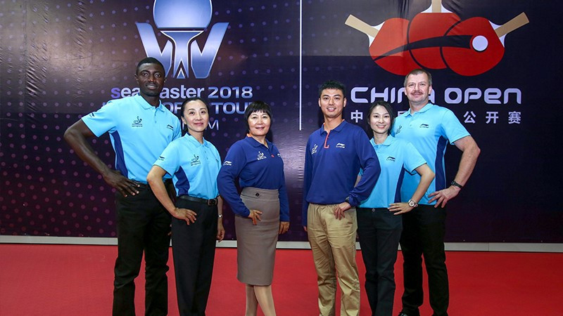 Li-Ning named as ITTF kit sponsor for umpires and coaches