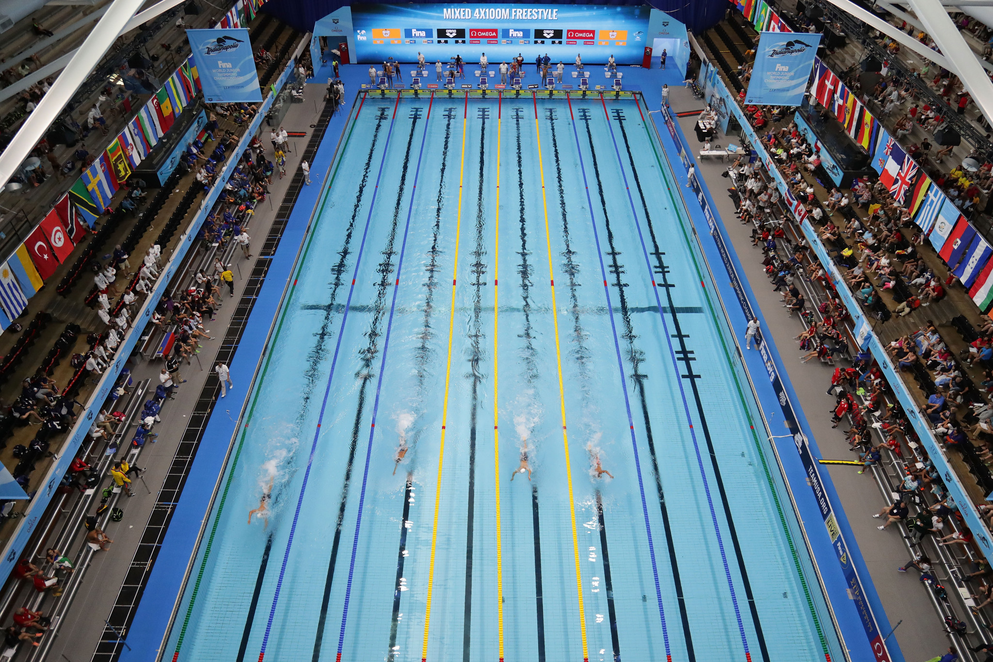 FINA has a strong portfolio of major events ©Getty Images