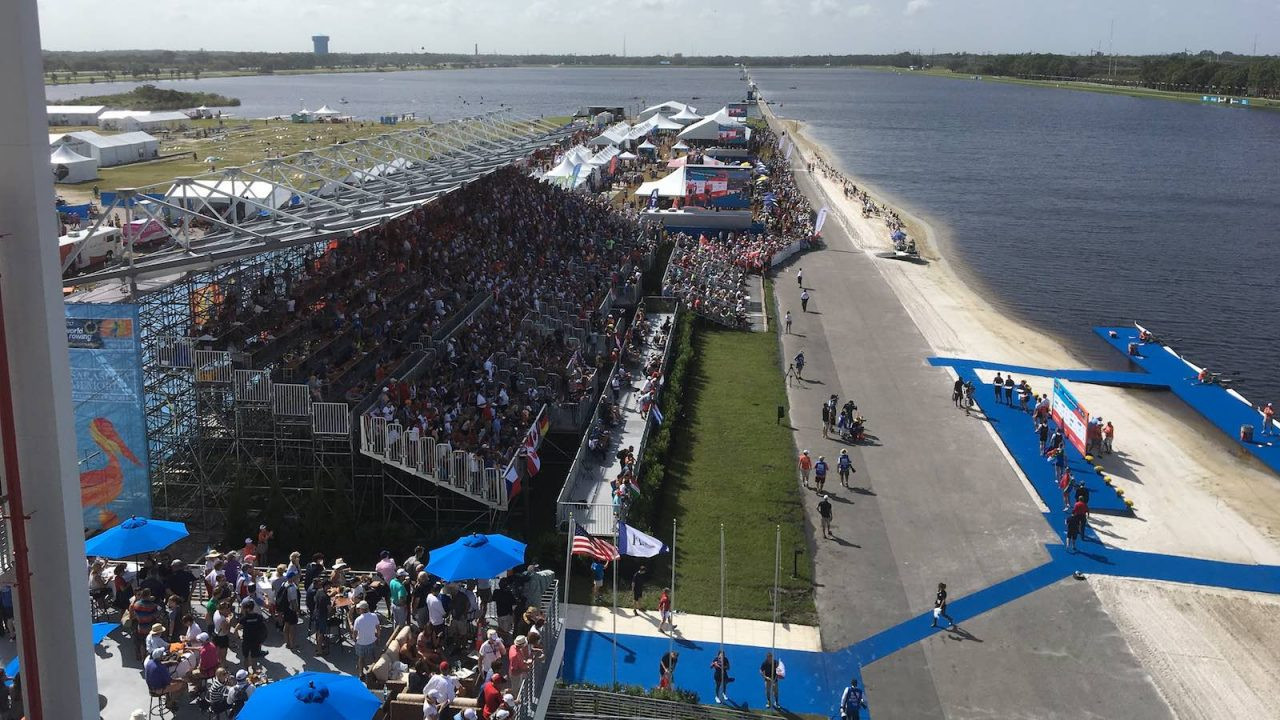 Sarasota-Bradenton hosted the World Rowing Championships last year ©US Rowing