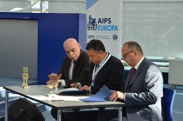 European Taekwondo Union signs MoU with AIPS Europe