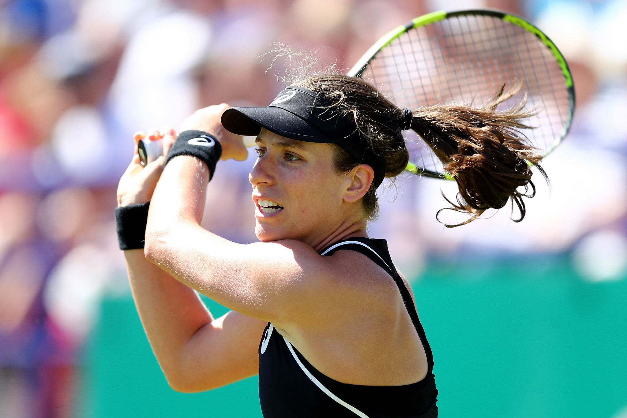 British number one Johanna Konta also progressed in Eastbourne today ©Getty Images