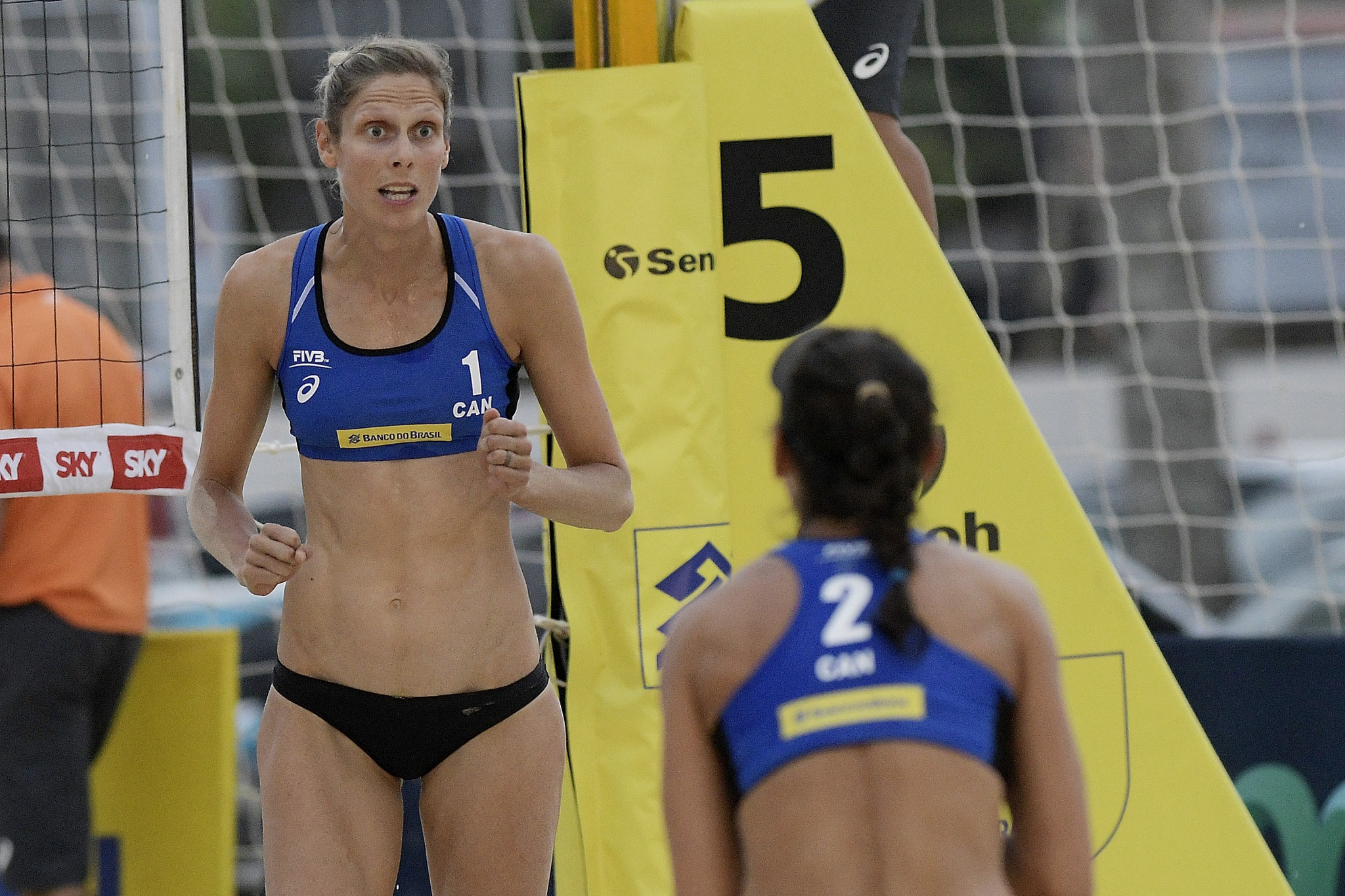 Canadians Melissa Humana-Paredes and Sarah Pavan are top seeds for the first FIVB Beach Volleyball World Tour event to take place in Warsaw since 2007 ©Getty Images