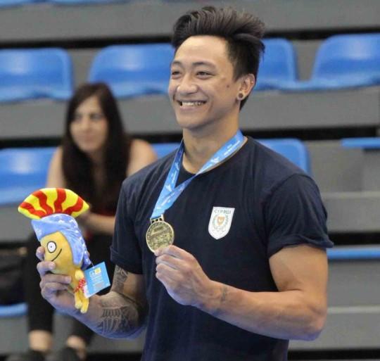 Georgiou wins second gold medal of Mediterranean Games but France enjoy best day