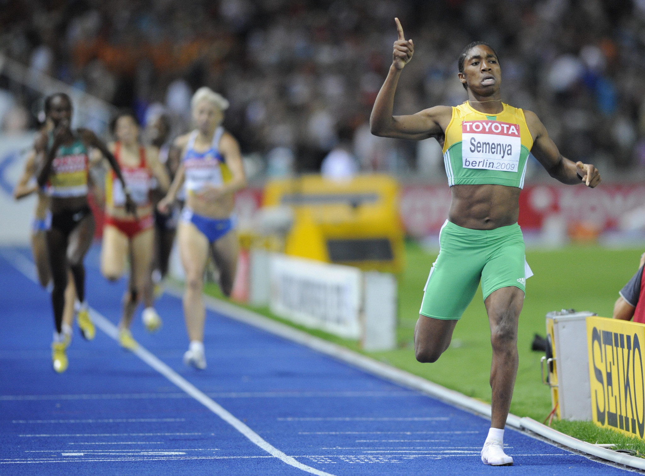 The ability of South Africa's Caster Semenya first came under scrutiny in 2009, when she won the IAAF World Championship 800m title with ease, aged just 18, leading to doubts over her gender ©Getty Images