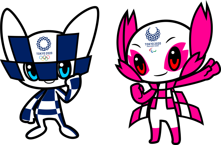 The mascots for the Tokyo 2020 Olympic and Paralympic Games will be named next month ©Tokyo 2020