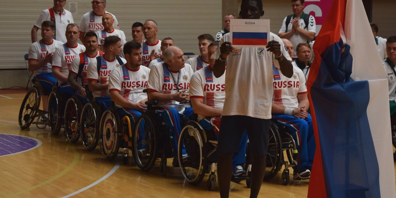 Russia win IWBF European Championships Division B title