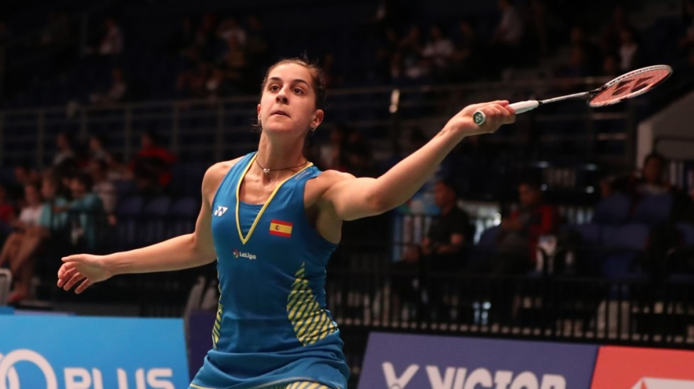 Olympic champion Carolina Marin has made it through to the second round at the BWF Malaysia Open ©BWF