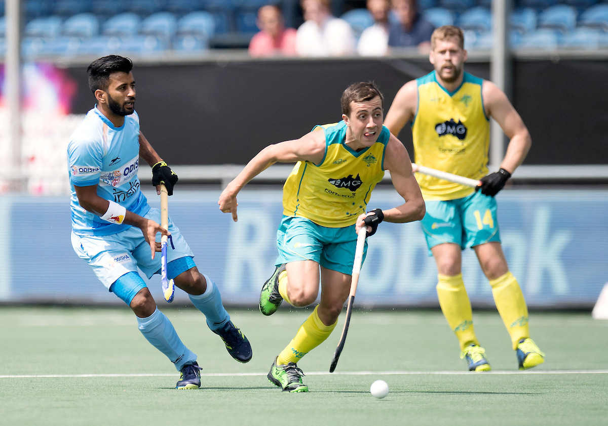 Australia maintain 100 per cent start to Hockey Champions Trophy with victory over India