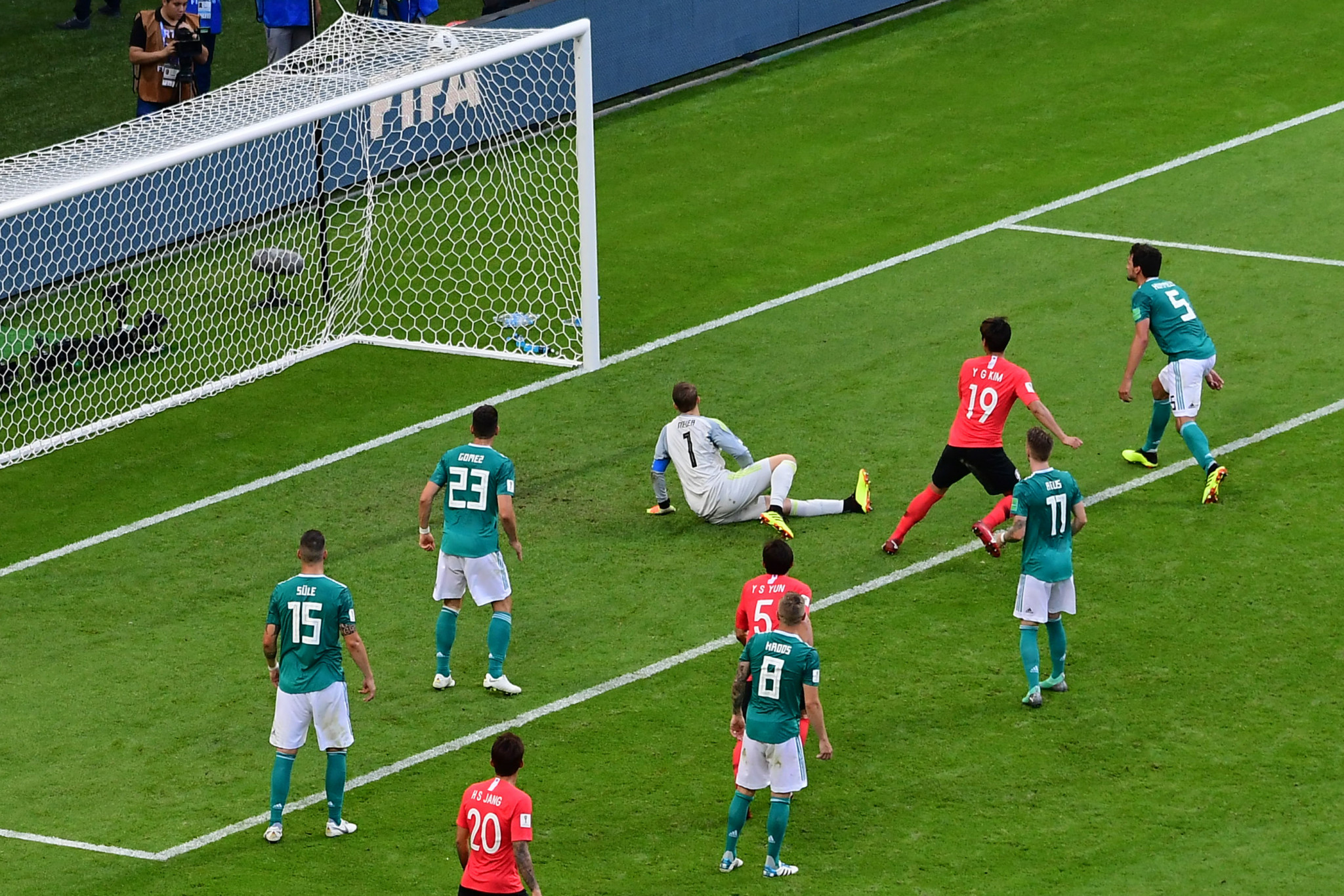 Germany suffered a shock exit from the FIFA World Cup ©Getty Images
