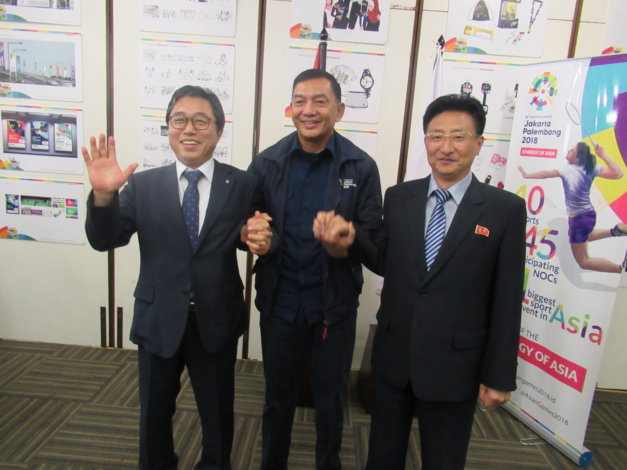 North and South Korea agree to compete together in three sports at 2018 Asian Games