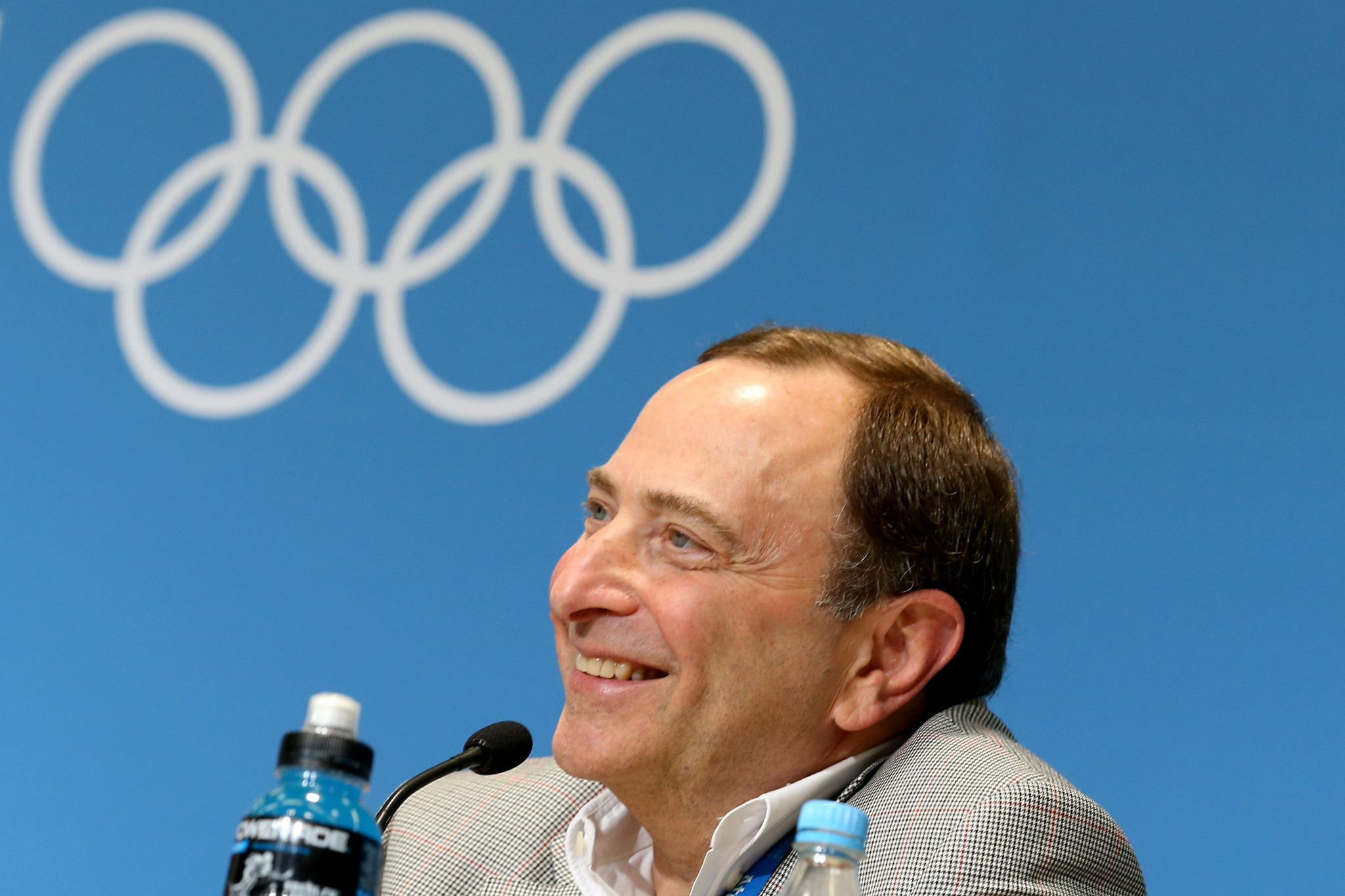 Gary Bettman is among the latest group of inductees to the Hockey Hall of Fame ©Getty Images