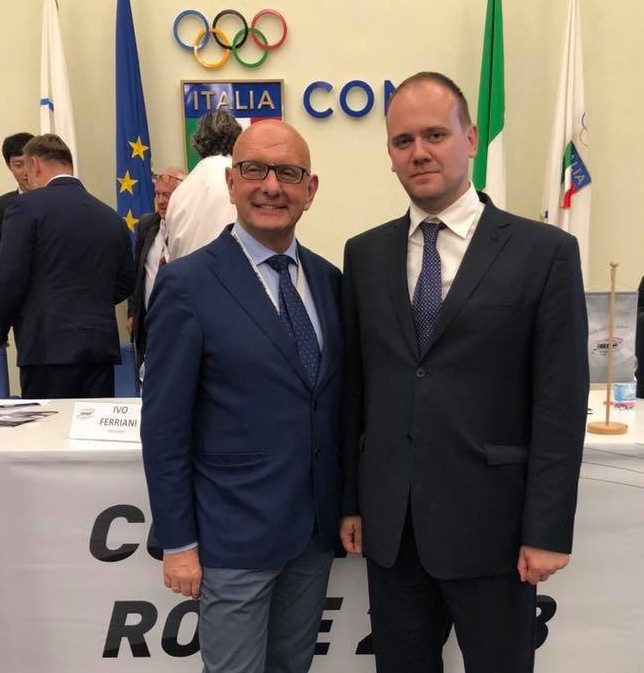 IBSF President Ivo Ferriani has vowed major events in the sport will return to Russia soon ©Facebook