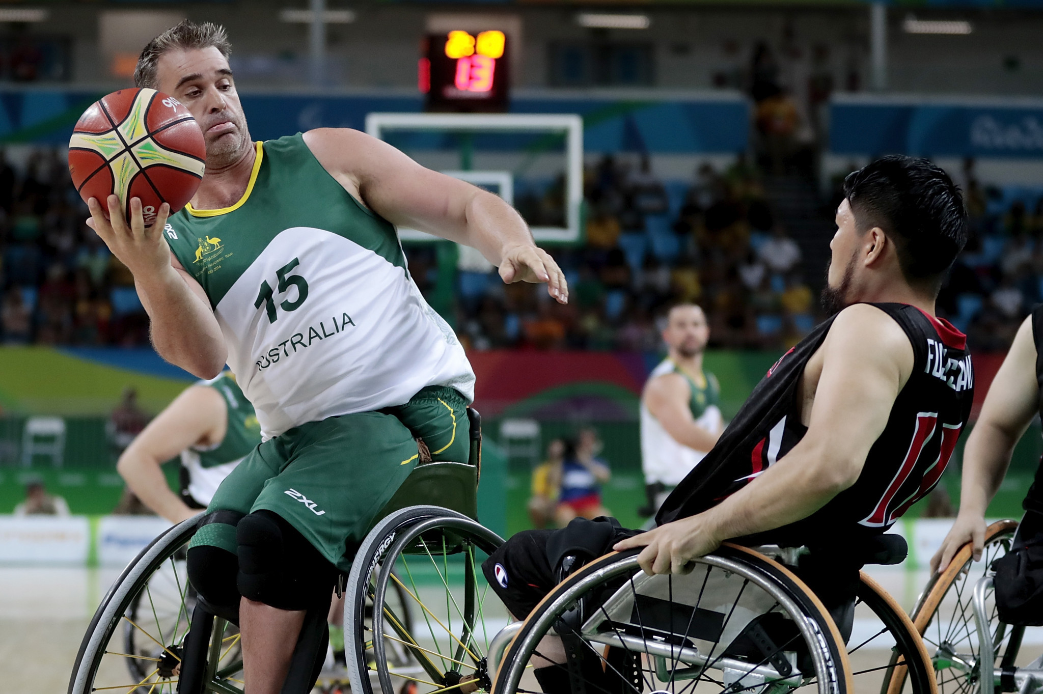 The Rollers won the IWBF World Championships in 2010 and 2014 ©Getty Images