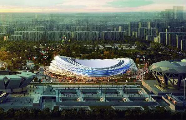 Underground construction completed at Beijing 2022 speed skating venue