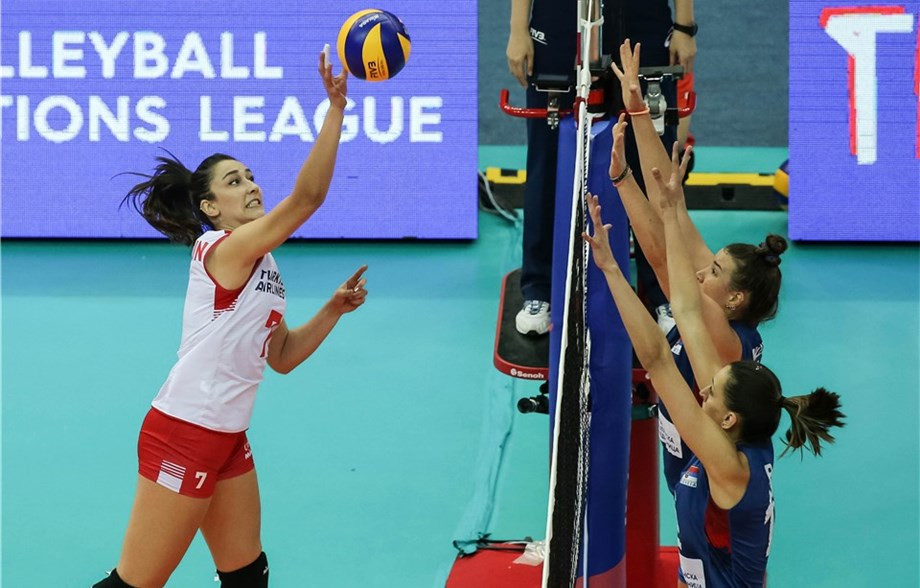 Turkey edge Serbia in thriller at FIVB Women's Nations League Finals