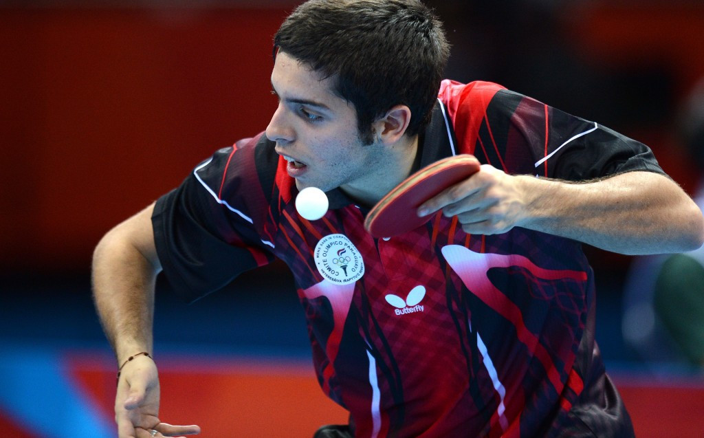 Paraguayan London 2012 player seals passage into main draw of ITTF World Championships