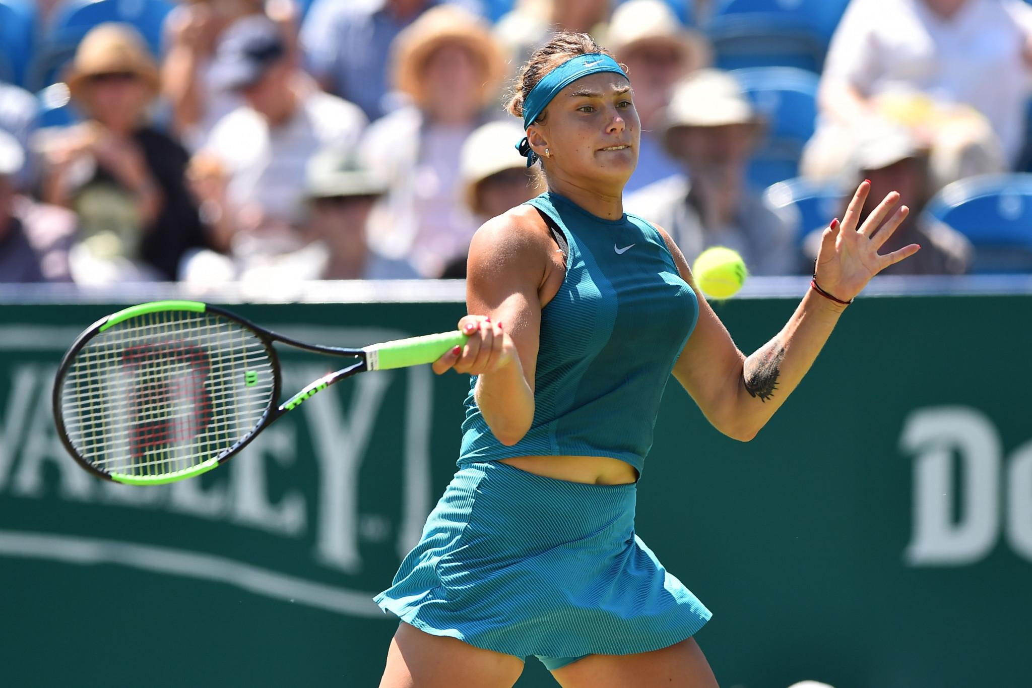 Sabalenka stuns defending champion Plíšková to reach semi-finals at WTA Eastbourne International