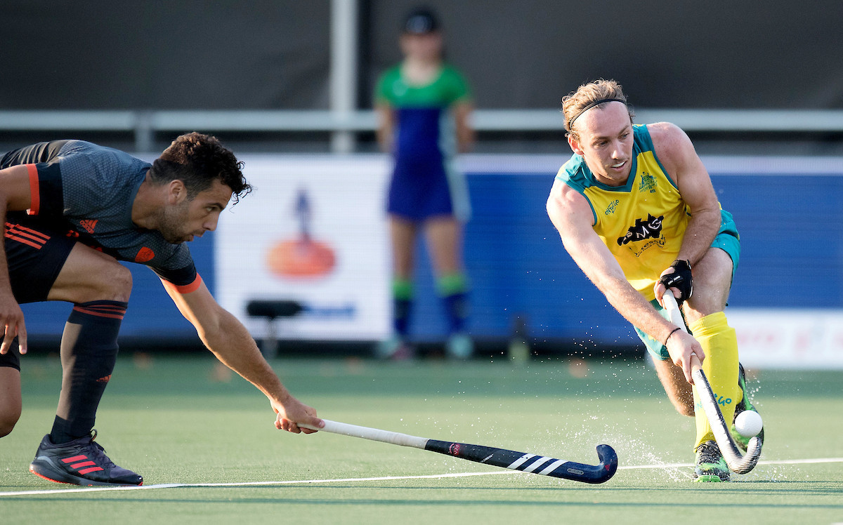 Australia moved a step closer to retaining their Men's Hockey Champions Trophy title as they recorded a 3-1 victory over hosts The Netherlands ©FIH