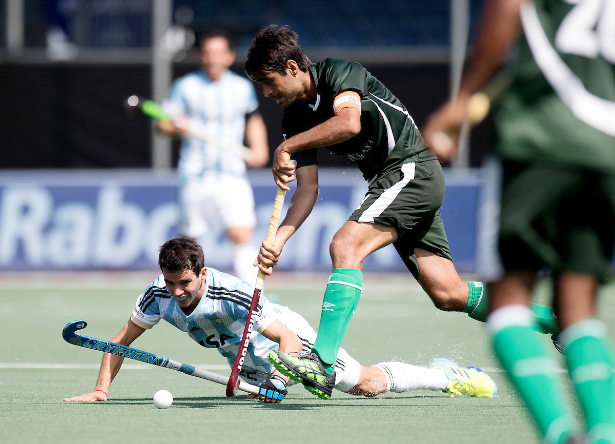 Pakistan stunned Olympic champions Argentina 4-1 ©FIH