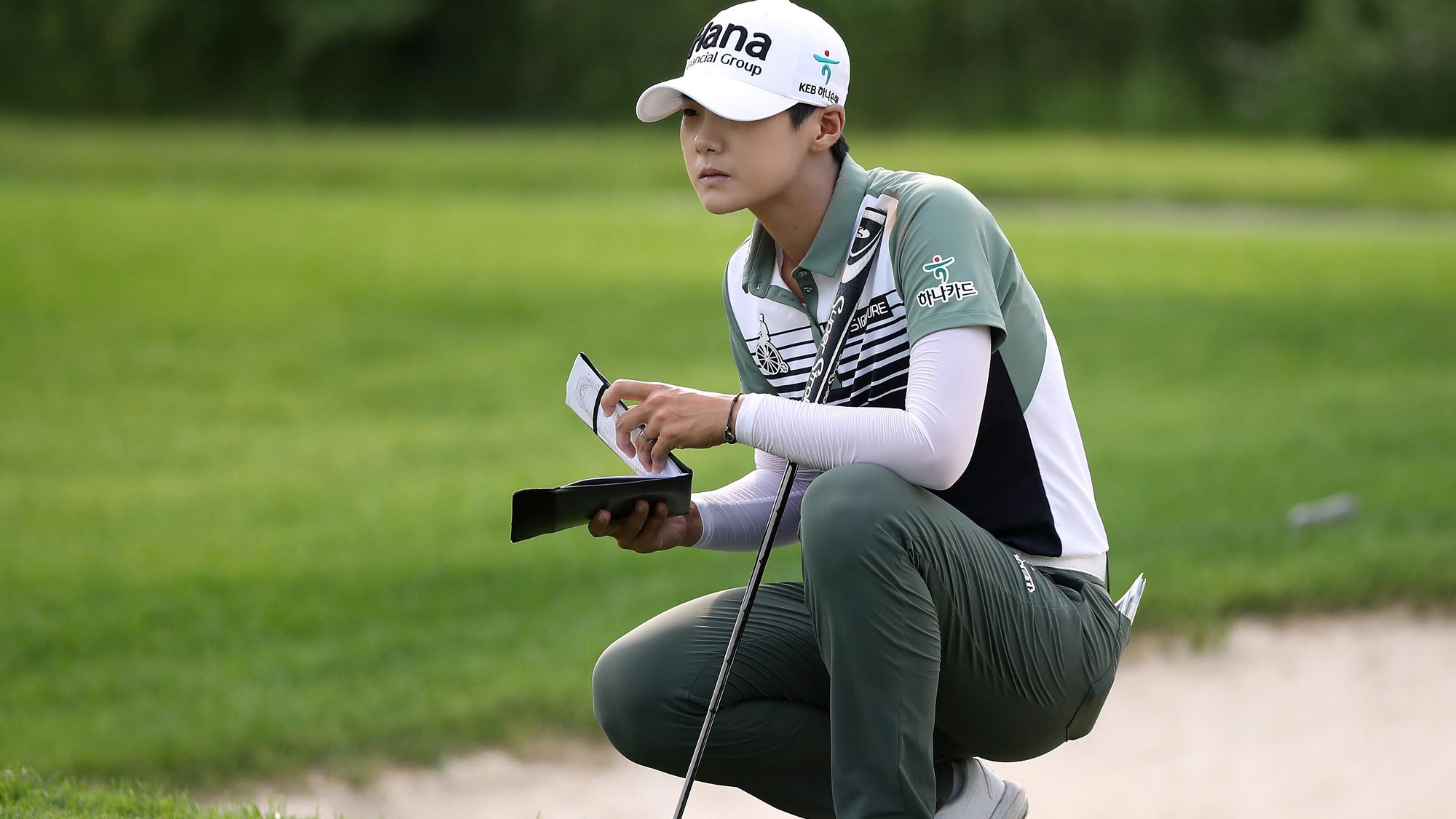 Six-under 66 sees Sung Hyun Park top leaderboard at Women's PGA Championship as injured Beck cards 68