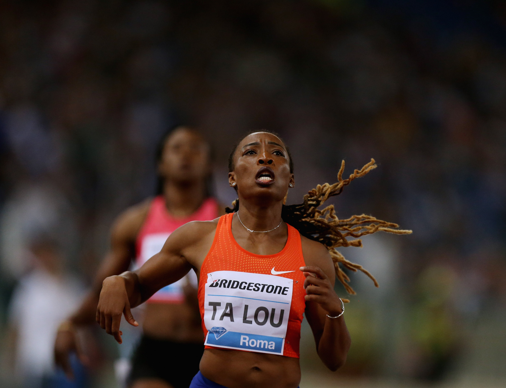Ivory Coast's Marie-Josée Ta Lou, one of the most decorated athletes in African Athletics Championships history, was set to defend her 100 metre and 200m titles in Algiers ©Getty Images