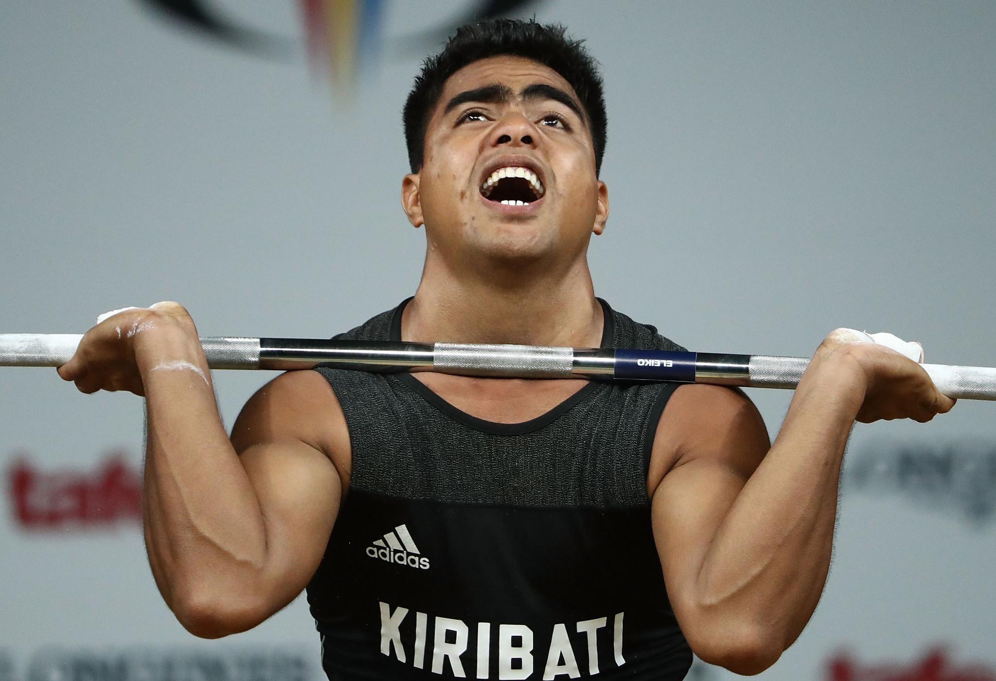 Ruben Katoatau of Kiribati is among other gold medal winners so far ©Getty Images